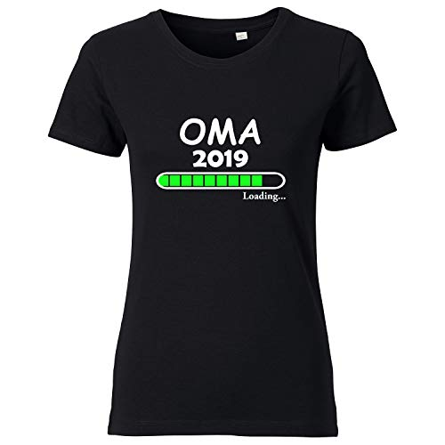 LittleBigFamily - Oma Loading 2019 - Damen T-Shirt Schwarz S
