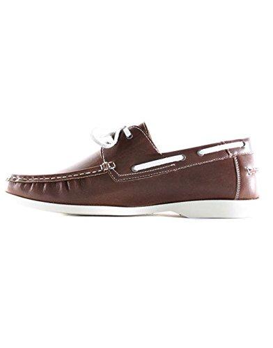 Elong - Chaussure bateau homme Elong 016 Marron Marron