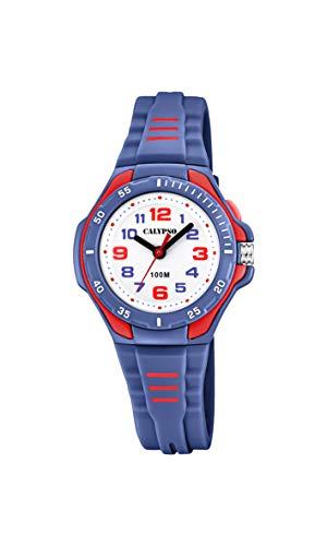 e3c21d0aab24 Calypso Watches Reloj Analógico para Unisex Niños de Cuarzo con Correa en  Plástico K5757 5