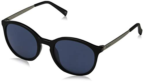 Pepe Jeans Damen Garnet Sonnenbrille, Schwarz (Black/Blue), 49.0