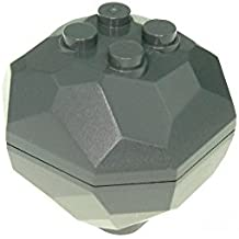 1 x Lego System Fels dunkel grau Brocken Felsen Stein Castle Star Wars 30293 30294 c01
