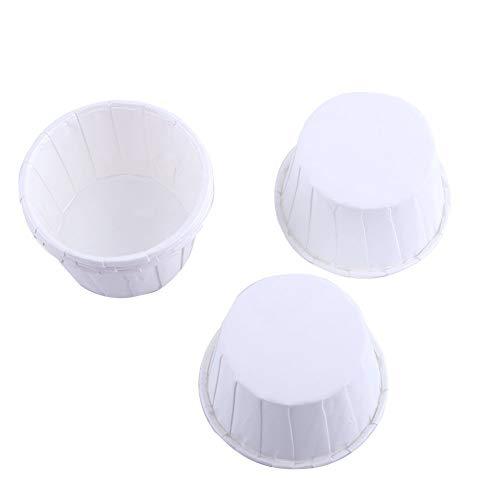 100er Backen Tassen Mini Papier Kuchen Cupcake Wrappers Fällen Halter für Muffin Cups Liner Cupcake Papier Backen Farbe für Halloween Hochzeit Geburtstag Party