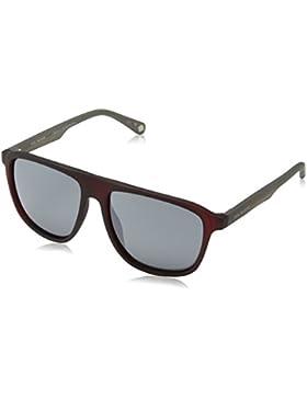 Ted Baker Sunglasses Kirby, Gafas de Sol para Hombre, Rojo (Burgundy), 57