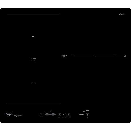 Whirlpool ACM 825/NE/IXL - plaques (Intégré, Induction, Verre, Noir, Verre, senseur)
