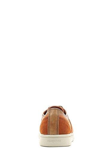 Geox Herrenschuhe - sportliche Halbschuhe - Schnürschuhe WARRENS Orange