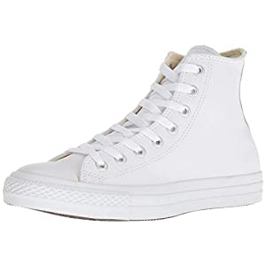 Converse All Star Hi Leather Zapatillas Negras Monocromas