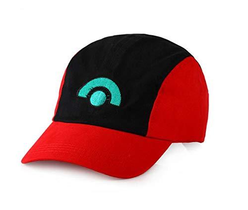 Imagen de pokemon ash ketchum unisex adult trucker  sombrero talla única pokemon ash ketchum  de béisbol gorro de entrenamiento para adulto bordado