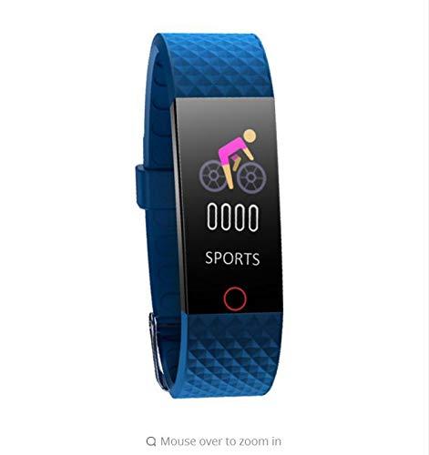 zlywj cardiofrequenzimetro sport smart wristband braccialetto step counter blood pressure monitoraggio della frequenza cardiaca schermo a colori braccialetto smart wristband