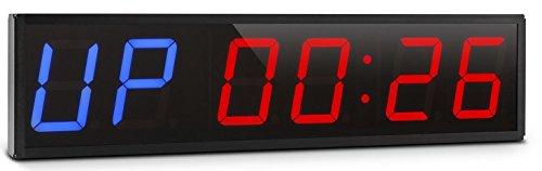 fight timer multifunzione con telecomando cronometro digitale da muro per boxe fitness crossfit mma a 6 cifre grandi