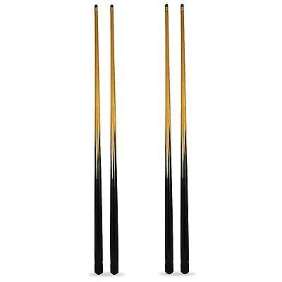 4 X 57 Pool Snooker Cues - Free Tips and Free Chalks by Other