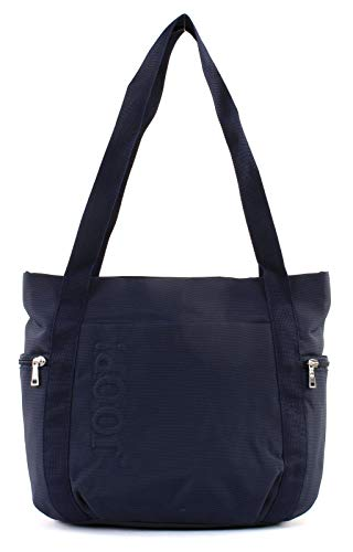Joop! Damen Nylon Naviga Fena Shopper Mvz Tote, Blau (Dark Blue), 15x29x26 cm