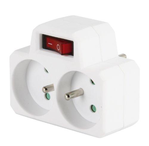 expert-line-485341-presa-biplite-2-x-16-ampere-interruttore-nuovo