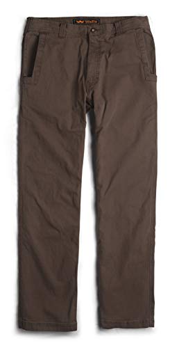 Duck Work Pant (Walls Herren Vintage Stonewashed Relaxed Fit Sanded Duck Work Pant Arbeitshose, Bark Brown, 40W / 32L)