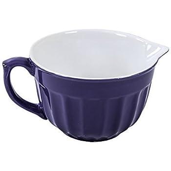 Keramik Rührschüssel Teigschüssel Servierschüssel Salatschüssel ...