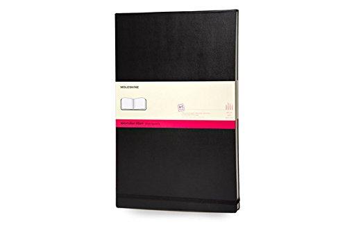 Moleskine Folio Art Aquarellbuch A3, Hardcover schwarz