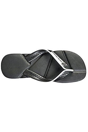 Emporio Armani Herren-Designer Flip-flops 2116625p 480 Schwarz