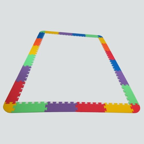Rand für Puzzlematte UNO 24 - 6 Farben