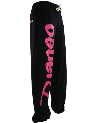 Jogginghose Herren und Damen. Sporthose Djaneo Rio Baumwolle. Hosen in 35 farben. schwarz und rosa
