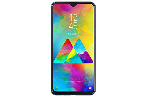 Samsung Galaxy M20 Smartphone (16.0cm (6.3 Zoll) 64GB interner Speicher, 4GB RAM, Ocean Blue) - Deutsche Version [Exklusiv bei Amazon] - 4 Gb Interner Speicher