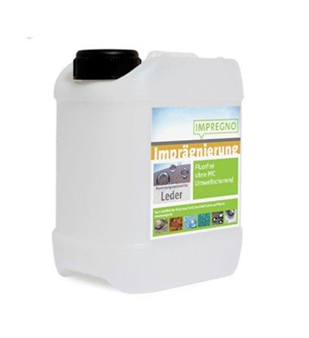 """Preisvergleich Produktbild IMPREGNO Imprägnierung """"Leder"""" 10 Liter Imprägniermittel Pflege Schutz fluorfrei umweltfreundlich"""