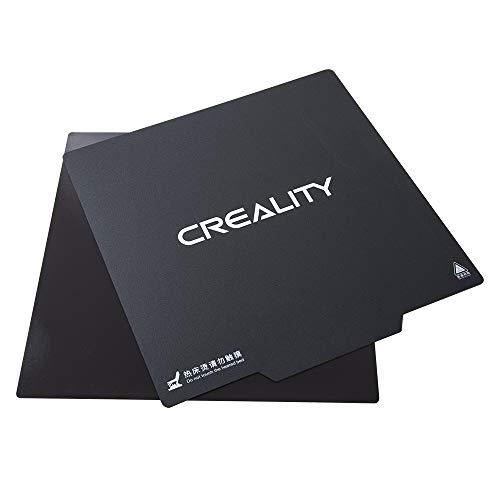 Gwisdom Surface du lit Creality CR-10, couverture chauffante du lit chauffante pour imprimante 3D, surface de construction magnétique amovible ultra-flexible CR-10S, 300 x 300mm