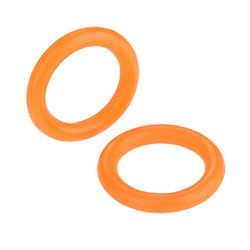 Hicello 2Pcs 39mm*27mm Industrielle Nähmaschine Computer Car Flat Sewing Machine Bobbin Winder Rubber Ring -