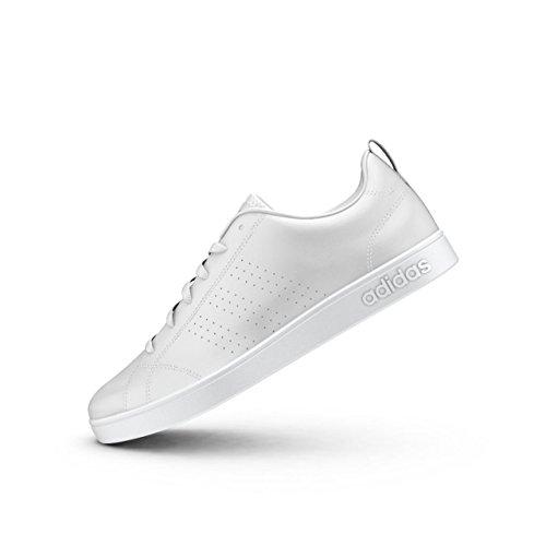 adidas Vs Advantage Clean W, Chaussure de Sport Femme Bianco (Ftwbla/Ftwbla/Rosfue)