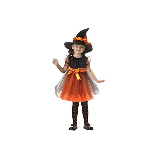 Blingko Kinderkostüme Halloween Karneval Kleinkind Kinder Baby Mädchen Halloween Kleidung Kostüm Kleid Party Kleider + Hut Outfit Kinder Halloween Kostüm Kostüm (Mountain Mann Kostüm Kind)