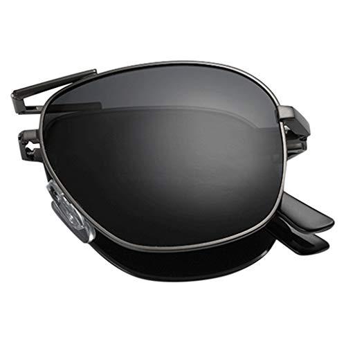 Storerine Unisex Klappsonnenbrille Sonnenbrille Karneval sommer polarisierte falten augenbrauenstift sonnenbrille mode brille