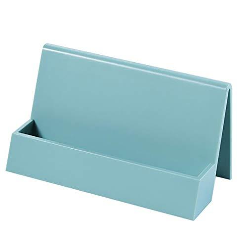 Característica: estos soportes de tarjetas están en un diseño simple y ordenado, con superficies pulidas en gran escala, muy necesario para su escritorio de oficina.    Color: como el de la imagen.    Contenido del paquete: 1 unidad.    Material: ...