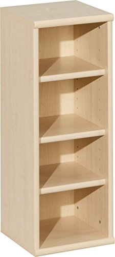CS Schmalmöbel 10/60 Regal, Holz, ahorn, 28 x 27 x 73 cm