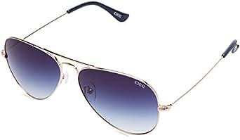 IDEE Gradient Aviator Unisex Sunglasses - (IDS2001C27SG|58|Blue Gradient Color)