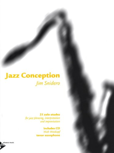 ADVANCE MUSIC SNIDERO JIM - JAZZ CONCEPT...