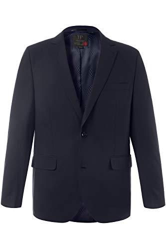 Groß Herren Blazer (JP 1880 Herren große Größen bis 72, Anzug-Jacke, Baukasten-Sakko Zeus, FLEXNAMIC®, Schnurwoll-Qualität Navy 72 705512 70-72)