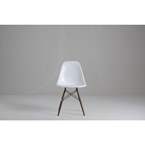 designement Chaise de Repas, Fibre de Verre, 47,5 x 53,5 x H.81,7 cm