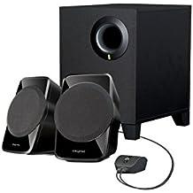 Creative Labs SBS A120 2.1 - Altavoces (2.1, 9 W, Negro, Altavoces Home theatre, 4 W, 50 - 20000 Hz)