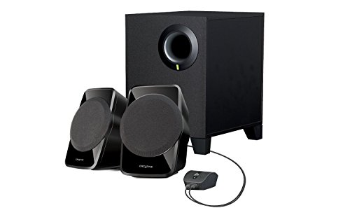 Creative Labs SBS A120 2.1 - Altavoces (2.1, 9 W, Negro, Altavoces Home theatre, 4 W, 50-20000 Hz)