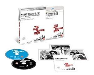 The Last Picture Show Directors Cut Limited Edition Blu Ray / DVD / Art Cards / Import / Region Free Blu Ray