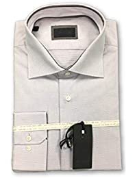 Pal Zileri Shirt in Pale Grey Size 15.5 Cotton