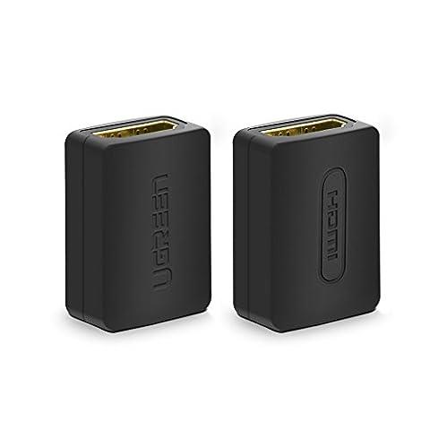 Cable Hdmi 3d 4k - UGREEN Lot de 2 Adaptateur HDMI Femelle