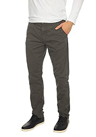 BLEND Tromp Herren Chino-Hose lange Business Hose Casual Stoffhose Freizeithose aus 100% Baumwolle , Größe:W30/30, Farbe:Phantom Grey (70010)