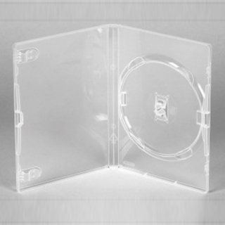 Amaray DVD Hülle Hüllen Transparent 1Disc 14mm 50 Stück