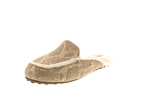 UGG Damenschuhe - Pantoletten Lane 1101014 - Snake Gold, Größe:40 EU