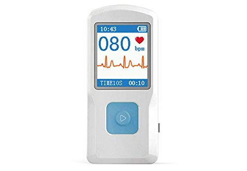 BLYL Moniteur électrocardiographe BLYL ECG / EKG connecté via USB / Bluetooth