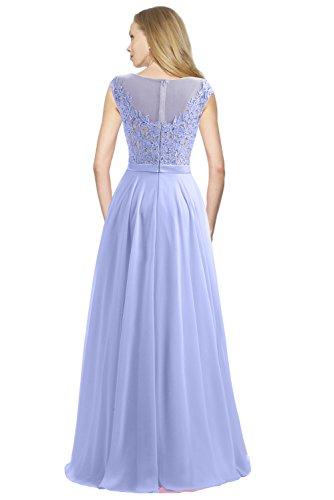 Missdressy -  Vestito  - linea ad a - Donna Blu chiaro