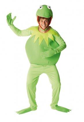 Kermit-Kostüm Die Muppet Show für Herren - (Piggy Kostüme Kermit Und Miss)