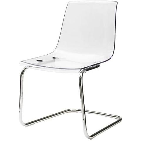 IKEA TOBIAS - Presidente, transparente, cromado