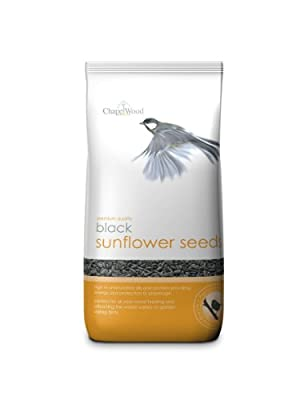 Chapelwood Wild Bird Black Sunflower Seed 1.5kg by Chapelwood