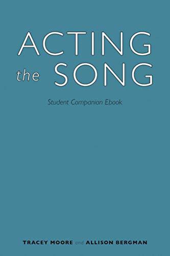 Como Descargar Desde Utorrent Acting the Song: Student Companion Ebook Donde Epub