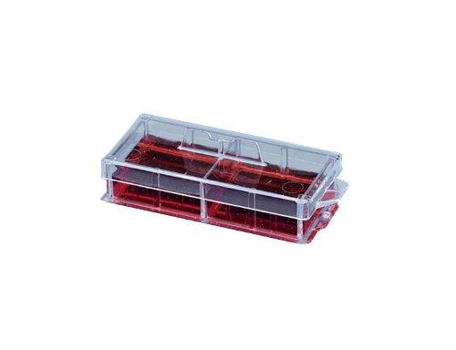 NUNC lab-tek 1,5Gemeines Borosilikat Cover Glas, steril, 2gut, 4.0cm2Wachstum Bereich, 1.0–2.0ml Arbeiten Volumen (Fall 16Stück)